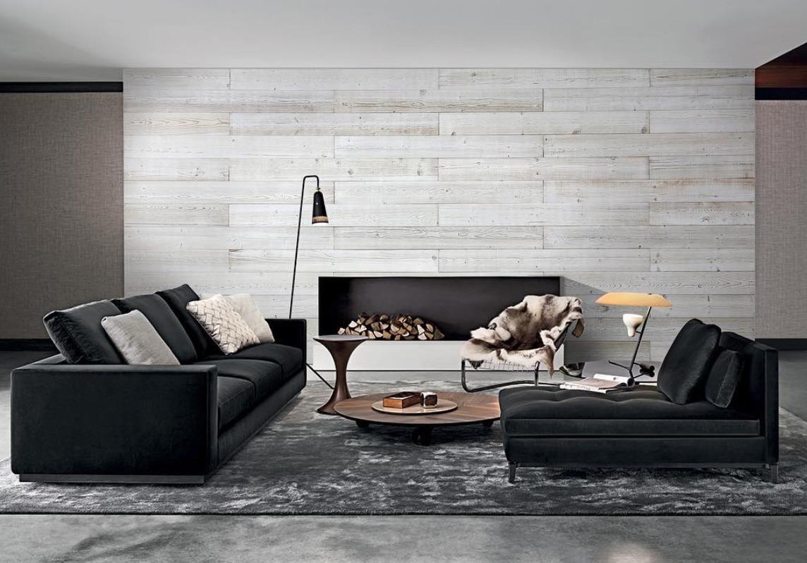 木板装饰墙面除了常见的大面积应用在卧室,客厅,餐厅,还可以运用在小