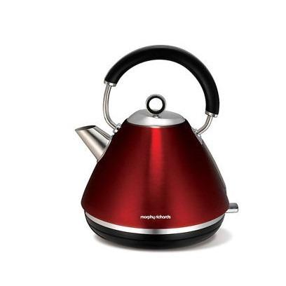 Morphy Richards 家用电水壶 红色