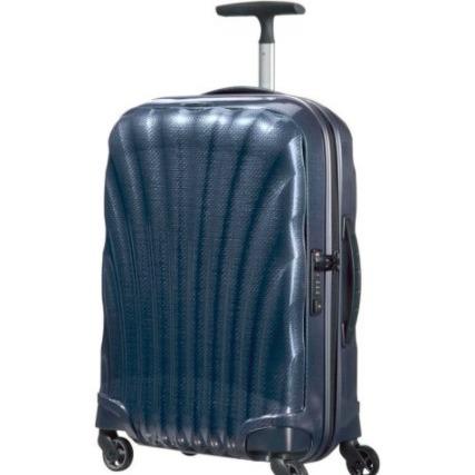 Samsonite 时尚贝壳行李箱55CM 蓝色