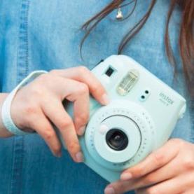 Fujifilm Instax Mini 9 拍立得 浅蓝色