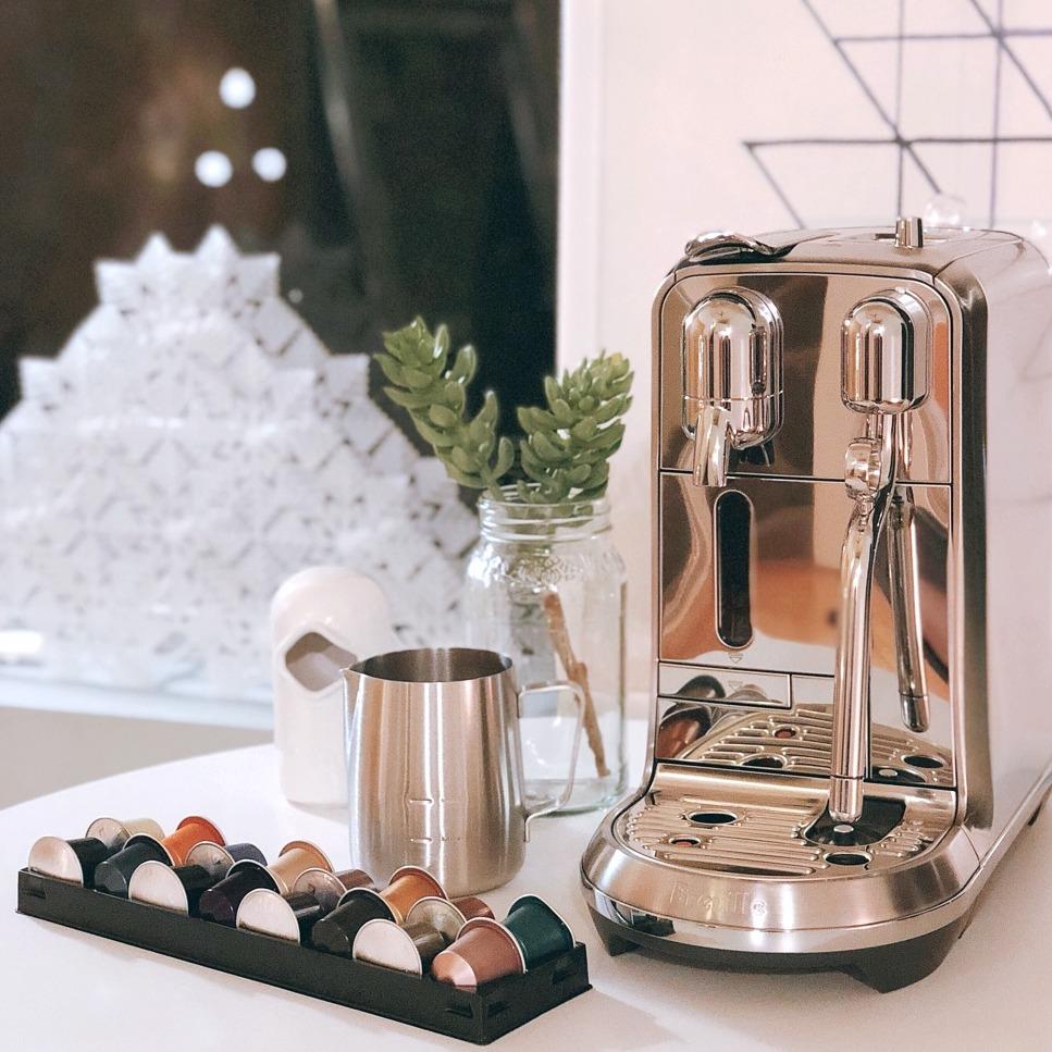 最后一天:Breville Nespresso 合作款 Creatista Plus奶泡咖啡一体机