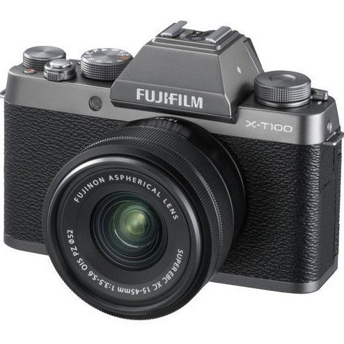 Fujifilm X-T100相机 + 15-45mm PZ OIS镜头