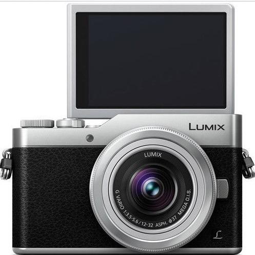 Panasonic Lumix GX850 银色相机+12-32mm Kit