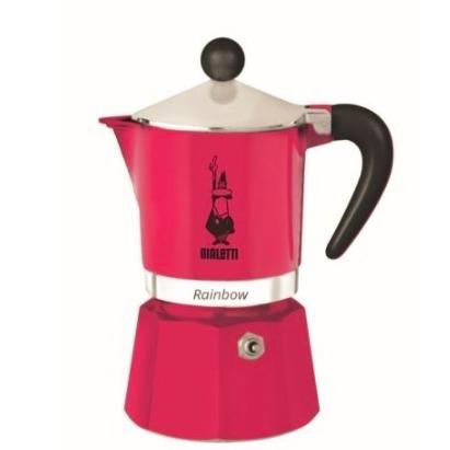 Bialetti比乐蒂 魔卡壶轻松煮咖啡 玫红色