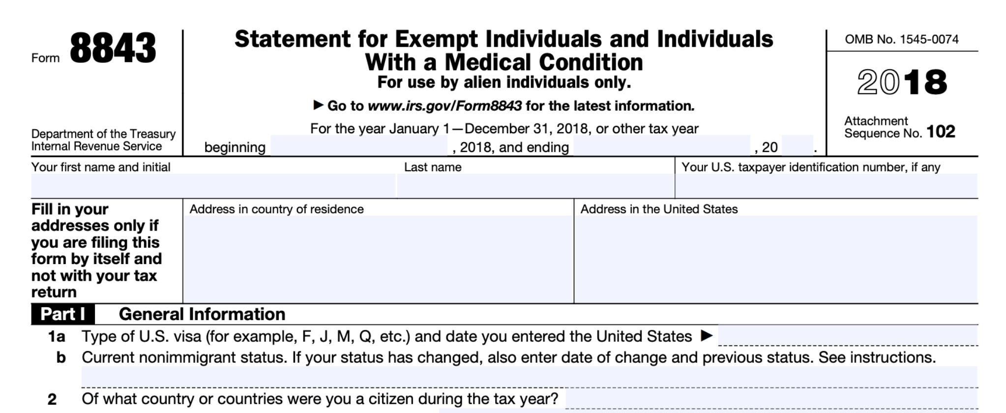 2019 年报税 Nonresident Alien Resident Alien 绿卡 公民,这几张tax Forms 一定至少用到一张! 附变化详解 北美省钱快报 Dealmoon