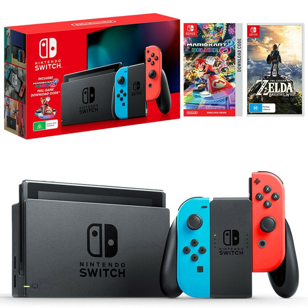 任天堂Switch 降价啦 宅家和朋友家人一起玩