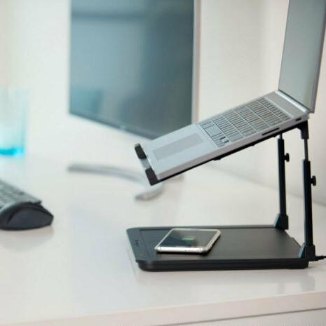 Kensington SmartFit 电脑支架+无线充电板 学习工作你都需要它