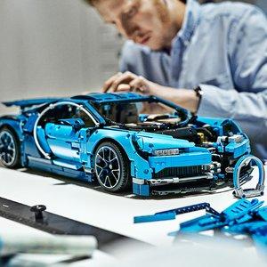 史低价:LEGO 乐高 42083 机械组系列布加迪Chiron超级跑车