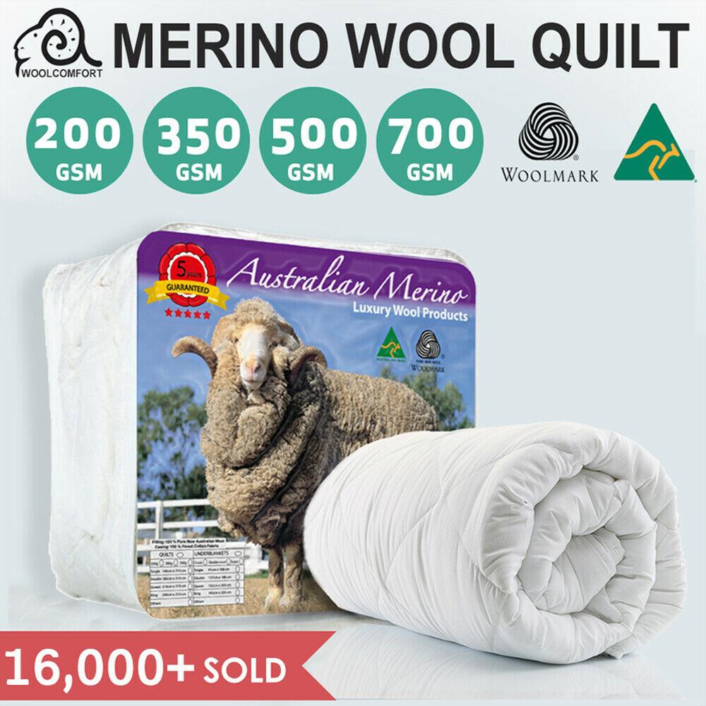折扣升级:Merino Wool 澳洲正宗羊毛被 多size可选