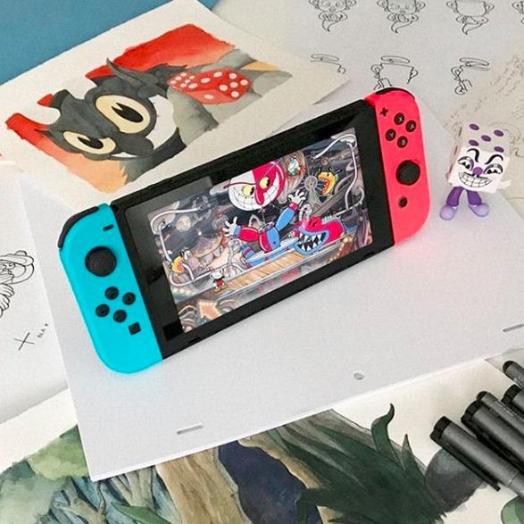 Nintendo Switch 人气游戏机 两色可选