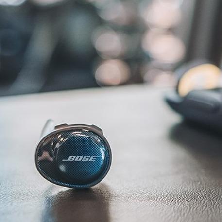 史低价:Bose SoundSport Free 无线运动耳塞 黑色