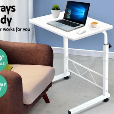 eBay 可调高度便移动木制书桌 四色可选