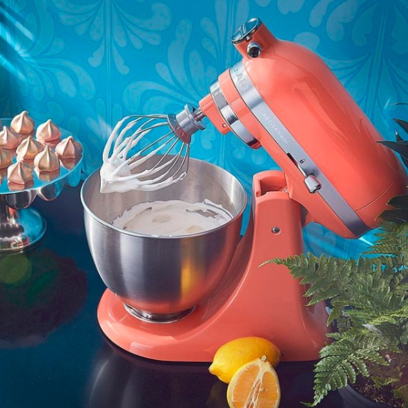 KitchenAid 高颜值马卡龙色专业厨房料理机