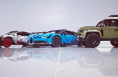 LEGO 乐高 42083 机械组系列布加迪Chiron超级跑车