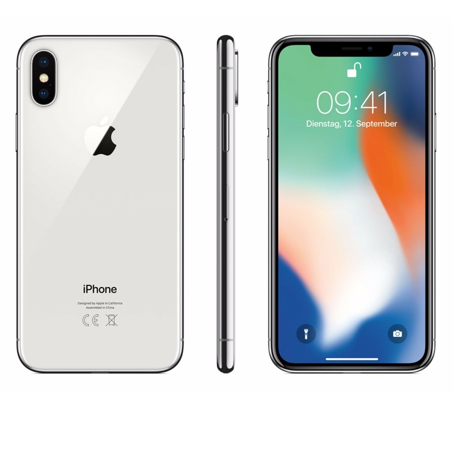 今天截止:Apple iPhone X 64GB 白色 回国可退税