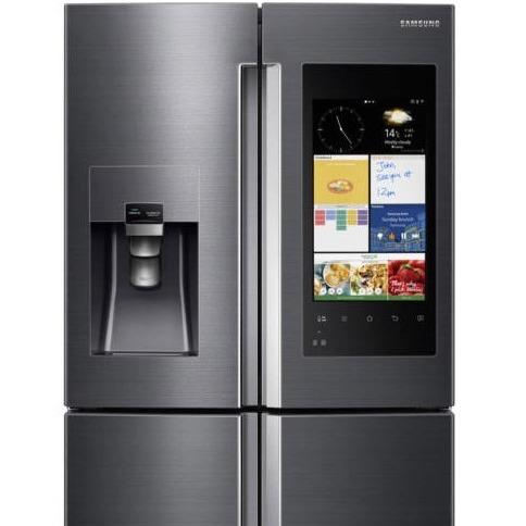 今天截止:Samsung三星 法式双门智能冰箱  一款会说话的冰箱