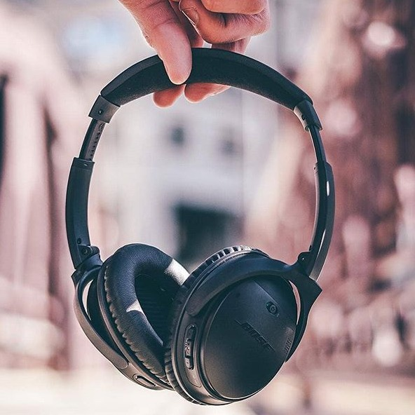 史低價:Bose QC35 || 主動降噪無線耳機 兩色可選